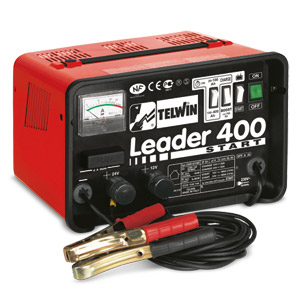 Caricabatterie  LEADER 400 START 230V 12-24V