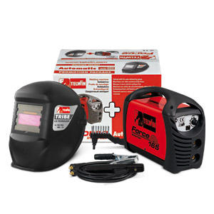 Saldatrice inverter FORCE 165 230V ACX + MASCHERA